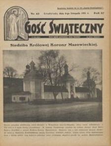 Gość Świąteczny 1931.11.08 R. XXXV nr 45