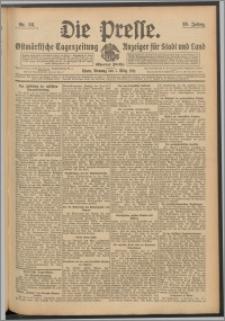 Die Presse 1911, Jg. 29, Nr. 56 Zweites Blatt, Drittes Blatt