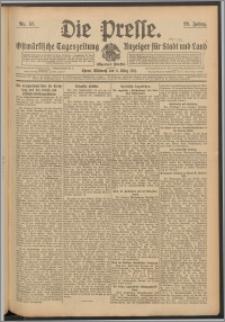 Die Presse 1911, Jg. 29, Nr. 57 Zweites Blatt, Drittes Blatt