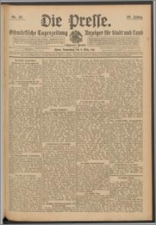Die Presse 1911, Jg. 29, Nr. 58 Zweites Blatt, Drittes Blatt