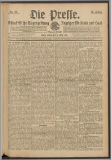 Die Presse 1911, Jg. 29, Nr. 59 Zweites Blatt, Drittes Blatt