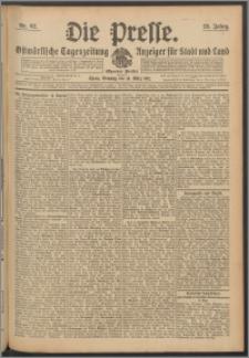 Die Presse 1911, Jg. 29, Nr. 62 Zweites Blatt, Drittes Blatt