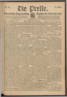 Die Presse 1911, Jg. 29, Nr. 63 Zweites Blatt, Drittes Blatt