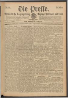 Die Presse 1911, Jg. 29, Nr. 64 Zweites Blatt, Drittes Blatt