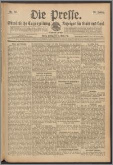 Die Presse 1911, Jg. 29, Nr. 65 Zweites Blatt, Drittes Blatt