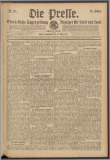 Die Presse 1911, Jg. 29, Nr. 66 Zweites Blatt, Drittes Blatt