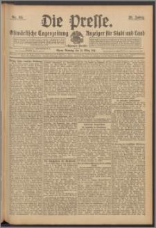 Die Presse 1911, Jg. 29, Nr. 68 Zweites Blatt, Drittes Blatt
