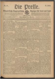 Die Presse 1911, Jg. 29, Nr. 69 Zweites Blatt, Drittes Blatt