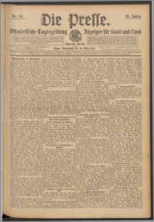 Die Presse 1911, Jg. 29, Nr. 70 Zweites Blatt, Drittes Blatt