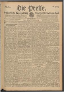 Die Presse 1911, Jg. 29, Nr. 71 Zweites Blatt, Drittes Blatt