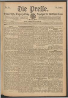 Die Presse 1911, Jg. 29, Nr. 78 Zweites Blatt, Drittes Blatt, Viertes Blatt