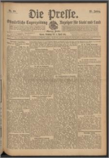 Die Presse 1911, Jg. 29, Nr. 80 Zweites Blatt, Drittes Blatt, Viertes Blatt
