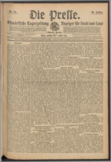 Die Presse 1911, Jg. 29, Nr. 83 Zweites Blatt, Drittes Blatt