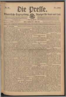 Die Presse 1911, Jg. 29, Nr. 85 Zweites Blatt, Drittes Blatt, Viertes Blatt, Fünftes Blatt