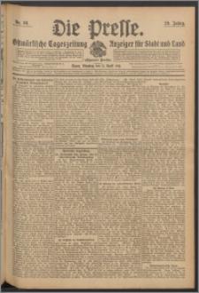 Die Presse 1911, Jg. 29, Nr. 86 Zweites Blatt, Drittes Blatt, Viertes Blatt