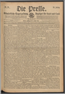 Die Presse 1911, Jg. 29, Nr. 89 Zweites Blatt, Drittes Blatt, Viertes Blatt