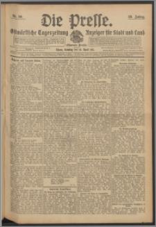 Die Presse 1911, Jg. 29, Nr. 90 Zweites Blatt, Drittes Blatt, Viertes Blatt, Fünftes Blatt