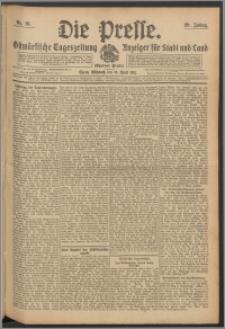 Die Presse 1911, Jg. 29, Nr. 91 Zweites Blatt, Drittes Blatt