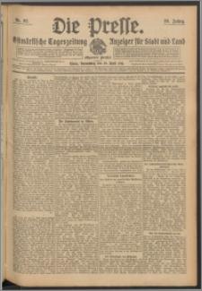 Die Presse 1911, Jg. 29, Nr. 92 Zweites Blatt, Drittes Blatt