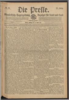 Die Presse 1911, Jg. 29, Nr. 93 Zweites Blatt, Drittes Blatt