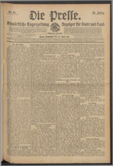Die Presse 1911, Jg. 29, Nr. 94 Zweites Blatt, Drittes Blatt