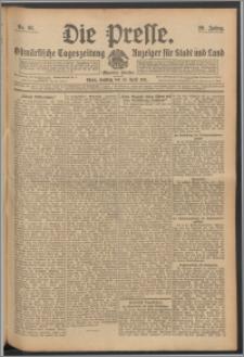 Die Presse 1911, Jg. 29, Nr. 95 Zweites Blatt, Drittes Blatt, Viertes Blatt