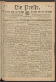 Die Presse 1911, Jg. 29, Nr. 96 Zweites Blatt, Drittes Blatt