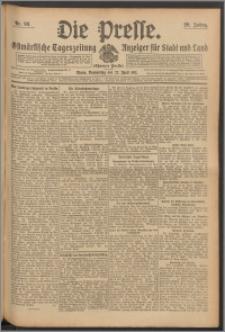 Die Presse 1911, Jg. 29, Nr. 98 Zweites Blatt, Drittes Blatt