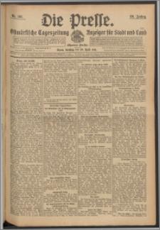 Die Presse 1911, Jg. 29, Nr. 101 Zweites Blatt, Drittes Blatt, Viertes Blatt, Fünftes Blatt