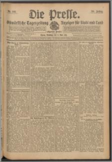 Die Presse 1911, Jg. 29, Nr. 102 Zweites Blatt, Drittes Blatt
