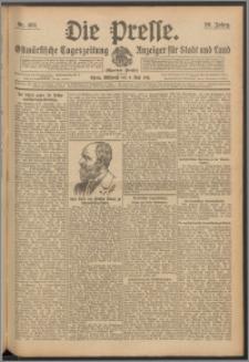 Die Presse 1911, Jg. 29, Nr. 103 Zweites Blatt, Drittes Blatt