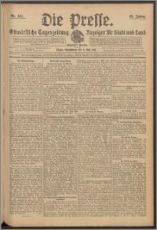 Die Presse 1911, Jg. 29, Nr. 104 Zweites Blatt, Drittes Blatt