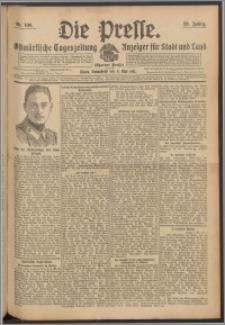 Die Presse 1911, Jg. 29, Nr. 106 Zweites Blatt, Drittes Blatt