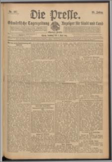 Die Presse 1911, Jg. 29, Nr. 107 Zweites Blatt, Drittes Blatt, Viertes Blatt