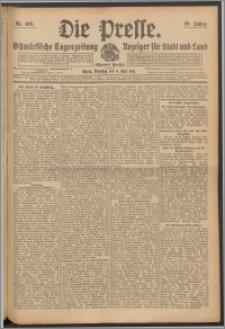 Die Presse 1911, Jg. 29, Nr. 108 Zweites Blatt, Drittes Blatt