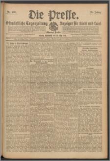 Die Presse 1911, Jg. 29, Nr. 109 Zweites Blatt, Drittes Blatt