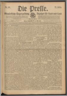 Die Presse 1911, Jg. 29, Nr. 110 Zweites Blatt, Drittes Blatt