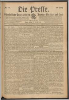 Die Presse 1911, Jg. 29, Nr. 111 Zweites Blatt, Drittes Blatt