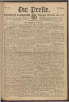 Die Presse 1911, Jg. 29, Nr. 112 Zweites Blatt, Drittes Blatt