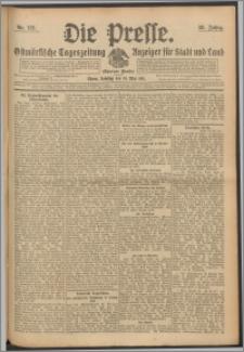 Die Presse 1911, Jg. 29, Nr. 113 Zweites Blatt, Drittes Blatt, Viertes Blatt