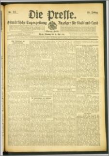 Die Presse 1911, Jg. 29, Nr. 114 Zweites Blatt, Drittes Blatt