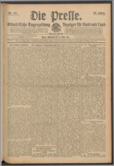 Die Presse 1911, Jg. 29, Nr. 115 Zweites Blatt, Drittes Blatt