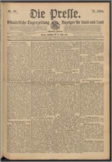 Die Presse 1911, Jg. 29, Nr. 119 Zweites Blatt, Drittes Blatt, Viertes Blatt, Fünftes Blatt