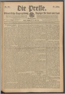 Die Presse 1911, Jg. 29, Nr. 120 Zweites Blatt, Drittes Blatt