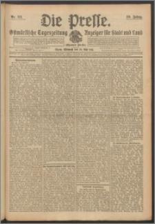Die Presse 1911, Jg. 29, Nr. 121 Zweites Blatt, Drittes Blatt