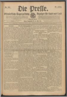 Die Presse 1911, Jg. 29, Nr. 122 Zweites Blatt, Drittes Blatt, Viertes Blatt