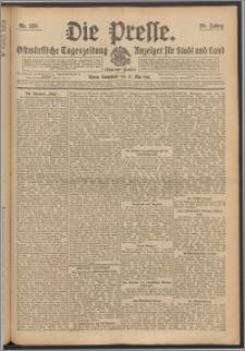 Die Presse 1911, Jg. 29, Nr. 123 Zweites Blatt, Drittes Blatt