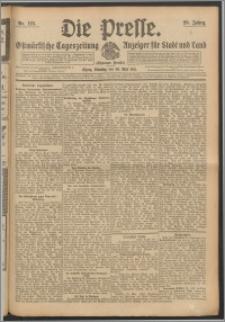 Die Presse 1911, Jg. 29, Nr. 125 Zweites Blatt, Drittes Blatt