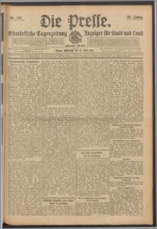 Die Presse 1911, Jg. 29, Nr. 126 Zweites Blatt, Drittes Blatt