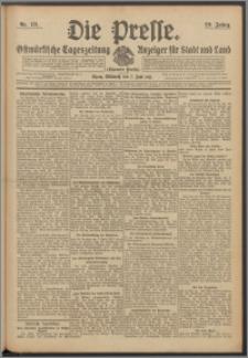 Die Presse 1911, Jg. 29, Nr. 131 Zweites Blatt, Drittes Blatt